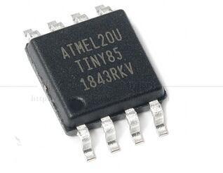 100 قطعة جديد الأصلي ATTINY85 20SU SOIC8 AVR