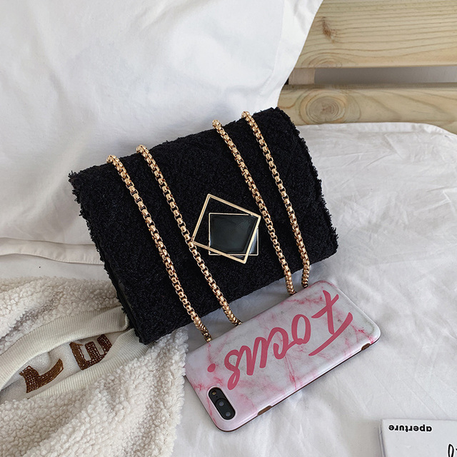 Фото женская шерстяная квадратная сумка книжка портативные сумки цена