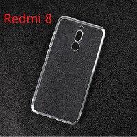 Funda de TPU suave y transparente para Redmi 8, funda de silicona para Xiaomi Redmi 8 Redmi8 Redmi 8, funda trasera