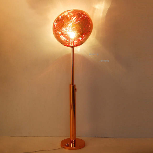 Nordic Led Melt Lava Floor Lamp Acrylic