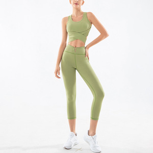 Yoga Set Sports Clothing Women