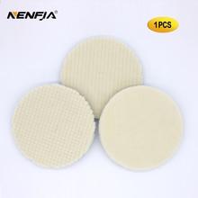 5 Inch Car Styling Japan Wool Polishing Pad For Car Polisher Pad Kits Wool Finish Polishing Pad