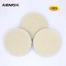 Kit de tampons de polissage en laine japonaise, 5 pouces, pour voiture, finition en laine
