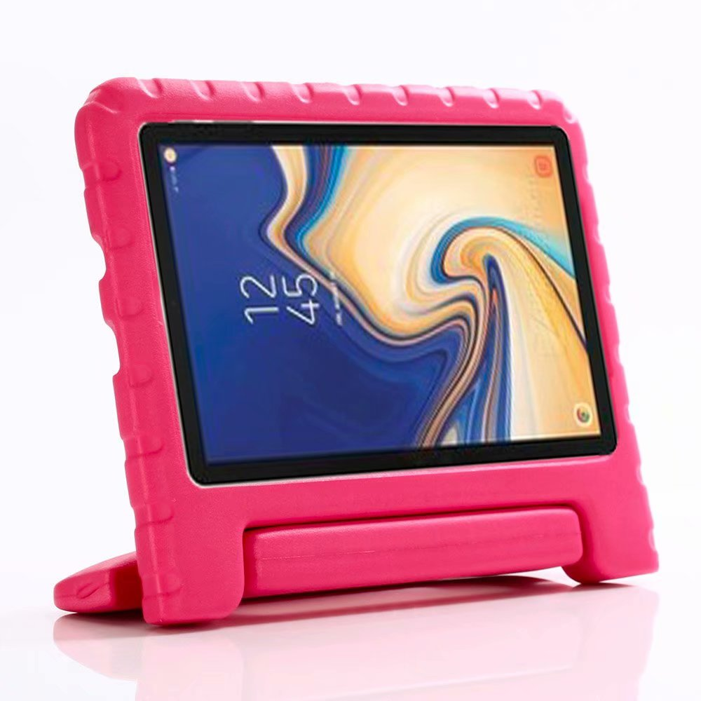 Shockproof EVA Stand Holder Tablet Cover For Samsung Galaxy Tab A 8.0 2018 T387 SM-T387W SM-T387V Case With Hand Holder Fundas