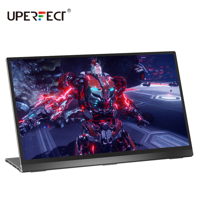 UPERFECT Portable Monitor 15.6 Inch 4K Touchscreen IPS HDR Eye Care Screen USB C Gaming  Dual Speaker PC Computer Display|LCD Monitors|   -