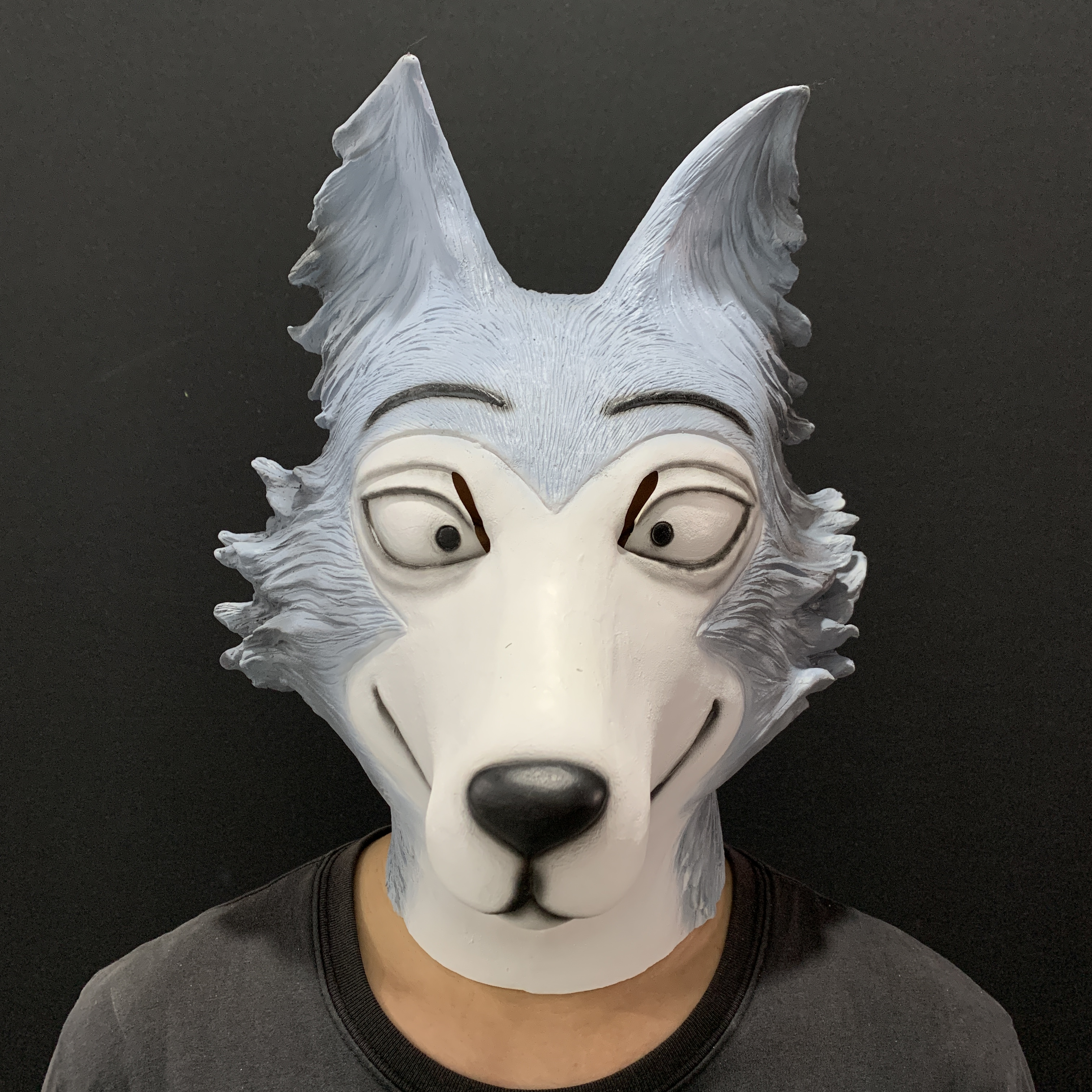 latex animal wolf head mask for halloween party costume cosplay props Headgear