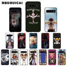 NBDRUICAI One Piece Anime High Quality Phone Case for Samsung S9 plus S5 S6 edge plus S7 edge S8 plus S10 E S10 plus(China)