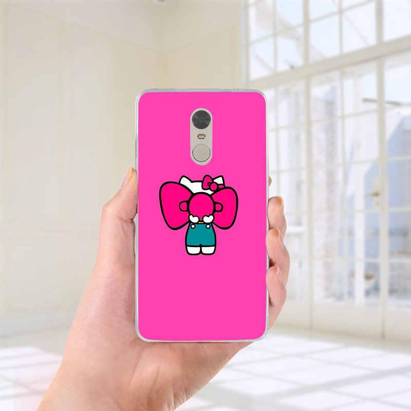 Belle Hello Kitty Design Doux Accessoires Housse Étui de téléphone pour xiaomi mi Max Note 2 3 4 4C 4i 5X6X8 9 SE A2 9T CC9 Pro