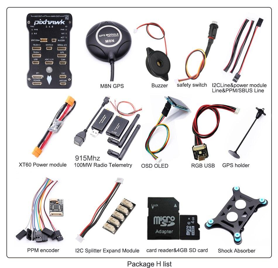 915 mhz 100 500mw telemetria de rádio