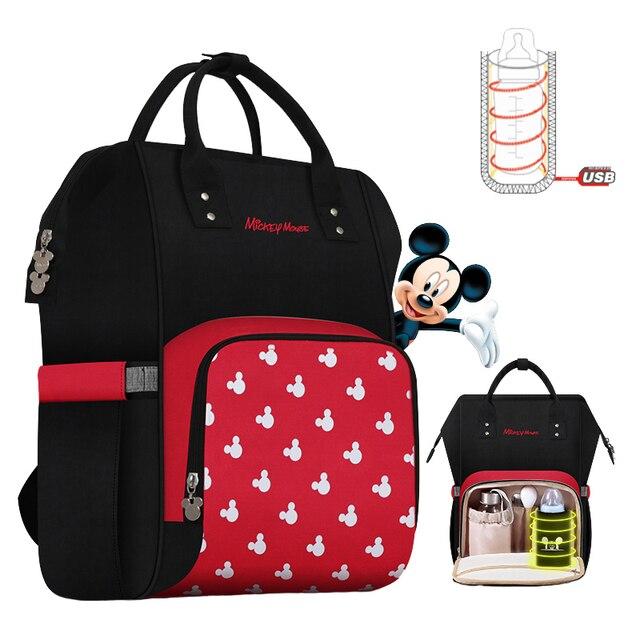 Großhandel Disney Windel Taschen Windel Rucksack Mama (5 stücke freies verschiffen, Kontaktieren mich minus fracht)