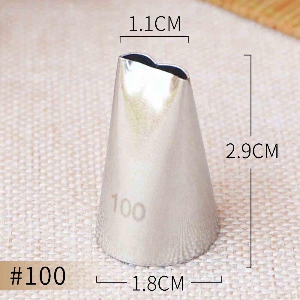 Кондитерские Насадки #100 с оборками насадки для глазирования