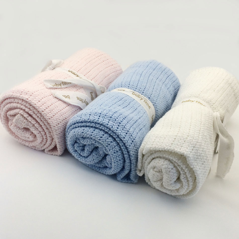 Hollow Baby Blankets 75*100cm Cotton Swaddling Wrap Feeding Burp Cloth Towel Scarf Baby Stuff Air Conditioning Blanket Toy Mat