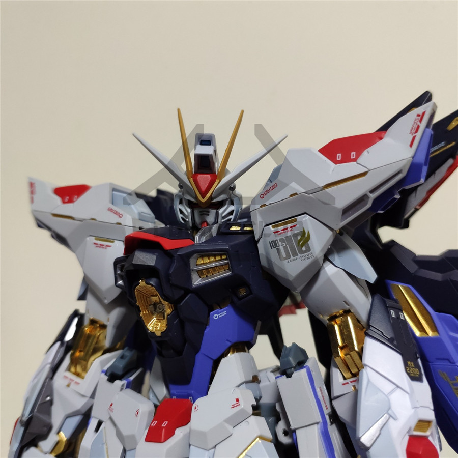 Image 2 - COMIC CLUB IN STOCK Metalgearmodels metal build MB Gundam strike freedom soul bule ver high quality  action figure robot toyAction & Toy Figures   -