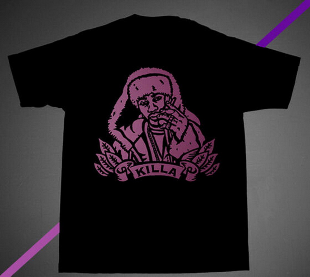 NWT FNLY94 Killa Cam Shirt Blk Pink Camron Rap Fashion Hba Hip Hop Dipset Large TEE Shirt Free Shipping Funny Tops