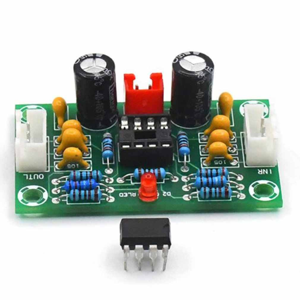 مصغرة preamp Op أمبير وحدة مكبر للصوت ثنائي القناة NE5532 preamplifier لهجة المجلس 5 مرات واسعة الجهد 12-30 فولت G10-004