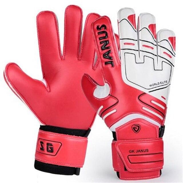 Gants de gardien de but pour enfants adultes professionnels Protection des doigts épaissir les gants de gardien de but de Football en Latex