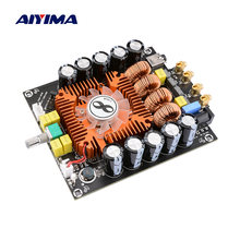 Ampliifer AIYIMA TDA7498E Power Audio Board 160W * 2 Suporte BTL 200W Stereo HIFI Amp Amplificadores de Som Digital home Theater DIY(China)