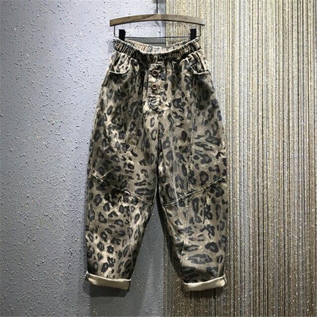 Fashion Leopard Jeans  3