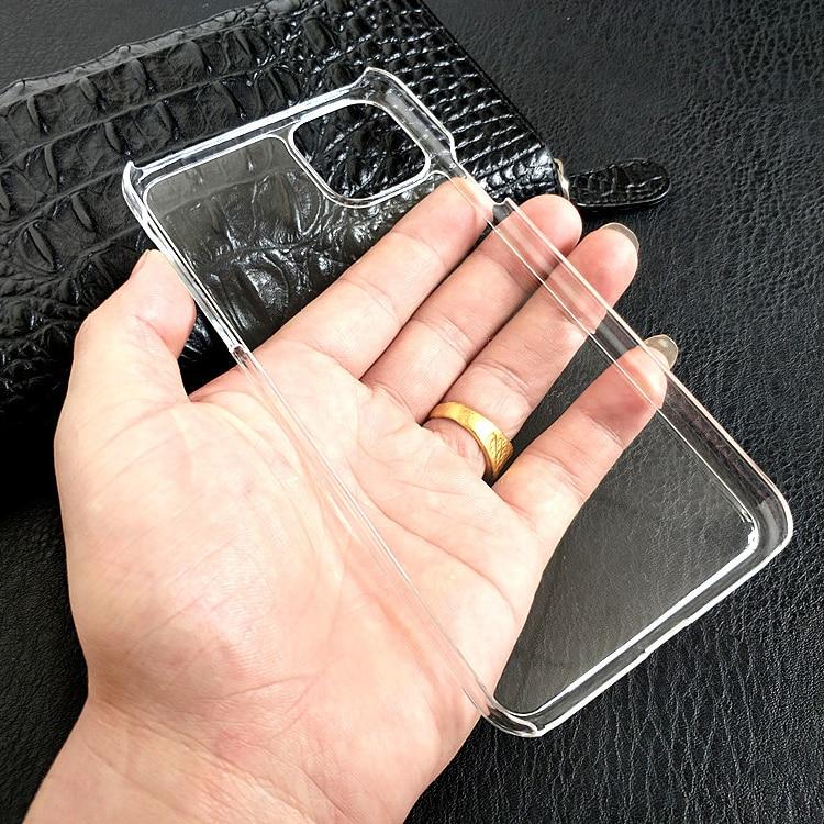 Ультратонкий Прозрачный жесткий пластиковый чехол для iPhone 12 Mini 11 Pro Max XS XR X 8 7 6 6S Plus SE 5 противоударный прозрачный Кристальный чехол