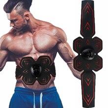 Slimming Machine Stimulator Abdominal Muscle EMS Trainer Vibration Fitness Massager Abdomen Training Shaper Fitness Equipment
