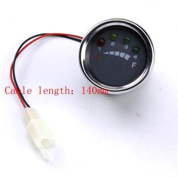 12 Volt Multi-Voltage LED Battery Meter/Gauge Indicator Battery display meter for Electric Solar, Boat,Golfcart, ATV, Forklift