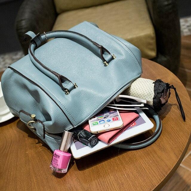 100% Genuine leather Women handbags Luxury Brand Handbags Women Bags  Designer Casual Genuine Leather Bags For Women Tassel 5