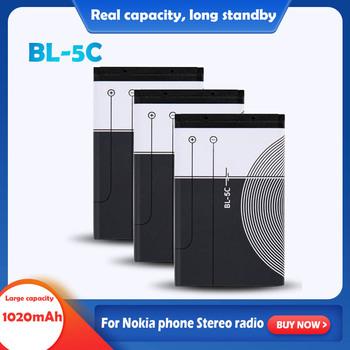 3 7V 1020mAh litowo akumulator li-po BL-5C BL 5C dla Nokia 1100 1200 1208 1280 1600 2600 2700 3100 3110 5130 6230 6230i n70 n72 tanie i dobre opinie EAST FIRE Li-ion CN (pochodzenie) Tylko baterie Pakiet 1 2 3 5 8 10PCS 53 2x33 9x5 6mm 2 09x1 33x0 22 About 22g Lithium battery