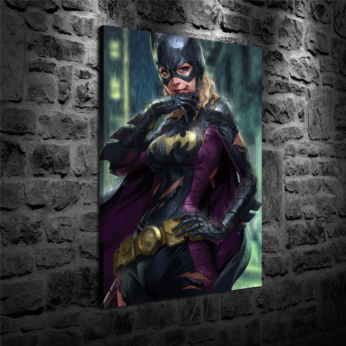 HD Print Oil Painting Home Decor Art on Canvas Supergirl 12x18inch Unframed
