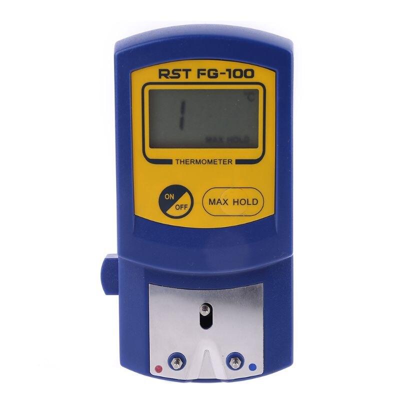 Наконечник паяльника Температура тестер FG-100 термометр, используемый для сварочное железо