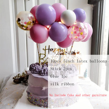 Balloons Wedding-Decoration Cake-Flags Birthday-Party Confetti 5inch Latex