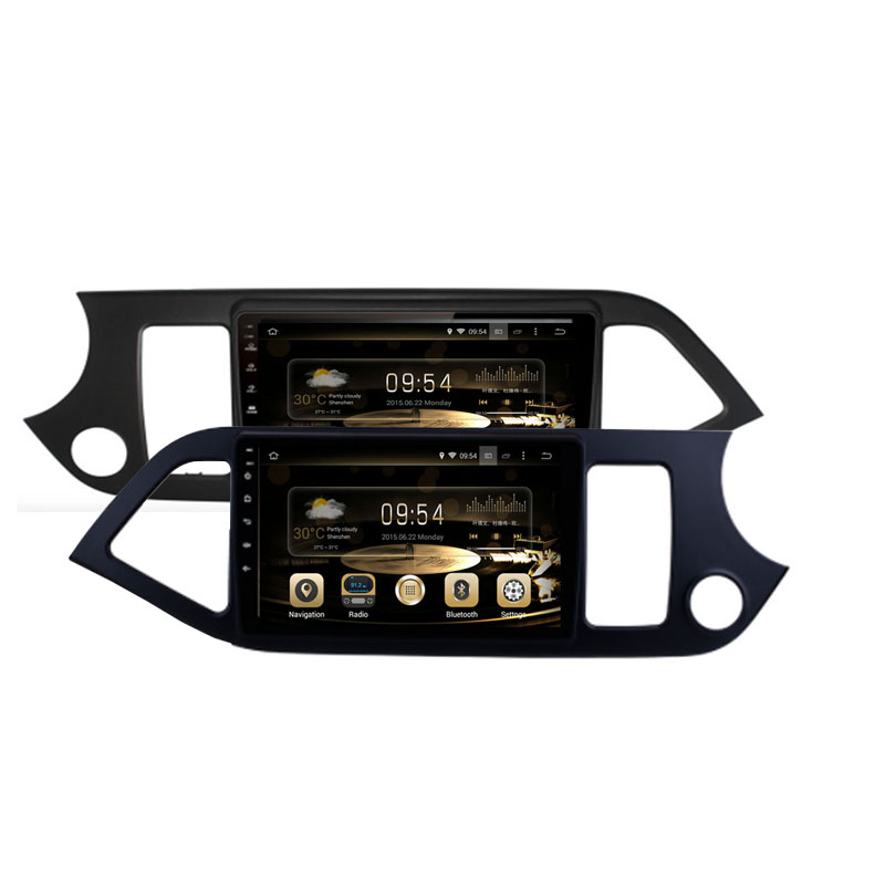 Cheap Android 9.0 Octa Core PX5/PX6 Fit KIA PICANTO MORNING 2011 2012 2013 2014 2015 2016 Car DVD Player Navigation GPS Radio 0