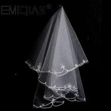 Свадебные аксессуары, Классическая 2 слоя талии Длина Свадебные фаты для невест