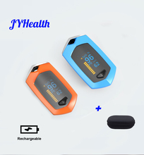JYHealth Rechargeable Finger Pulse fingertip Oximeter Digital Medical equipment Oximetro De Dedo Spo2 sport Oled Pulsioximetro