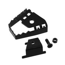 Motorcycle Rear Foot Brake Pedal Pad Extender Extended Alloy Rod Pedal For BWM F800GS F700GS F650GS R1150GS R1200GS tanie tanio Z tyłu 308782 10cm Mniej metalu