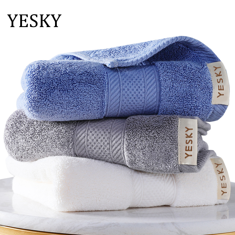 YESKY Towels 3-Pack Bath Towels - Extra-Absorbent - 100% Cotton 100% Cotton