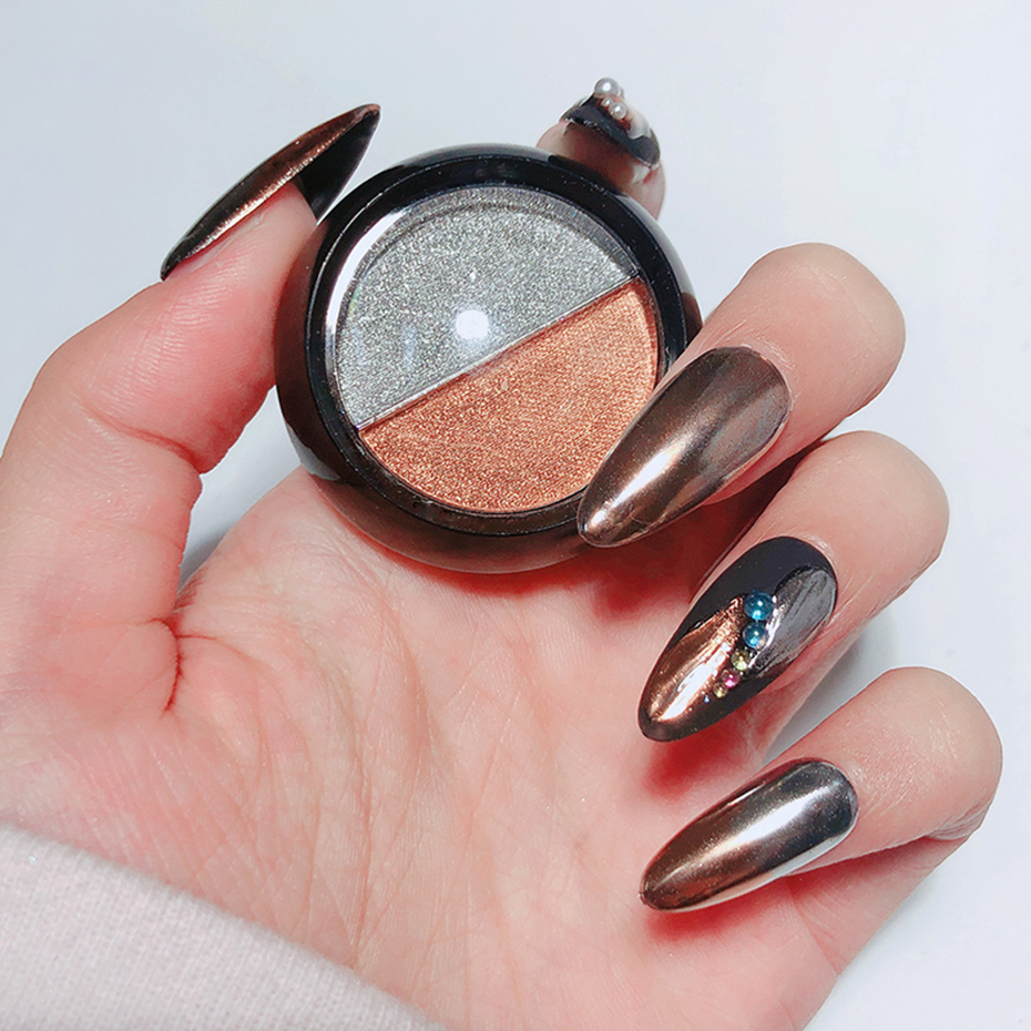 Mirror Powder Metallic Nail Glitter 13