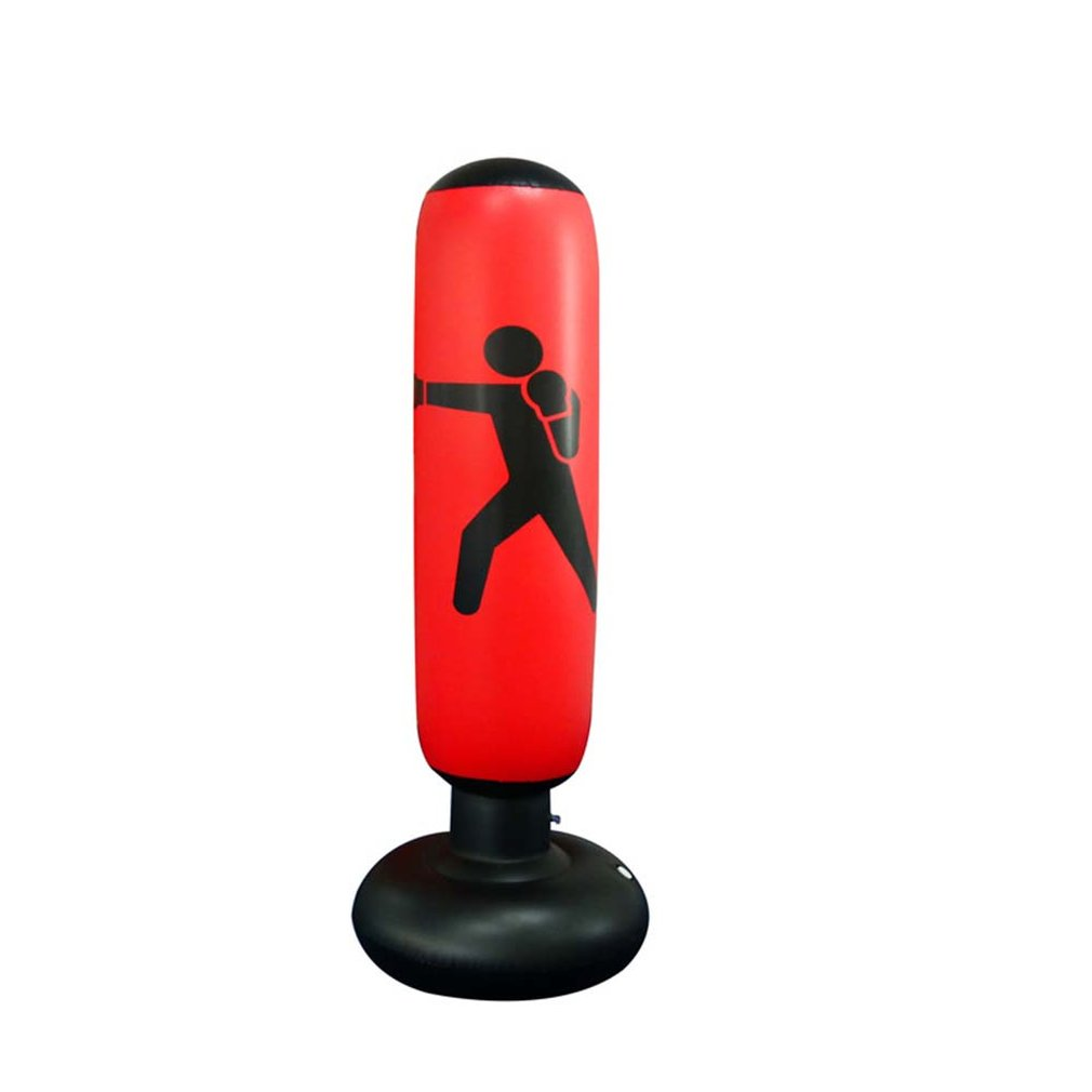 Funny Design Children Adult Lifelike Unique Funny Tumbler Toy Inflatable Boxing Toy Kick Fight Bag Punching Bag