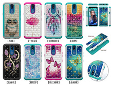 Glitter Diamond Phone Cases For LG K40 K12 Plus PC Silicone Hybrid Case for Google Pixel 3a 3a XL Fashion Back Cover Accessories