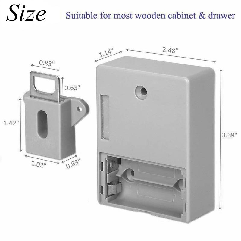 No-Hole Invisible Cabinet Lock 3