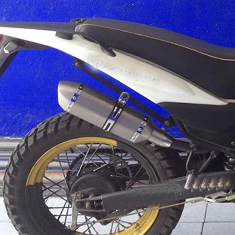 を変更された Akrapovic オートバイの排気マフラーと Db のキラーダートストリート Atv 排気 Z750 TMAX