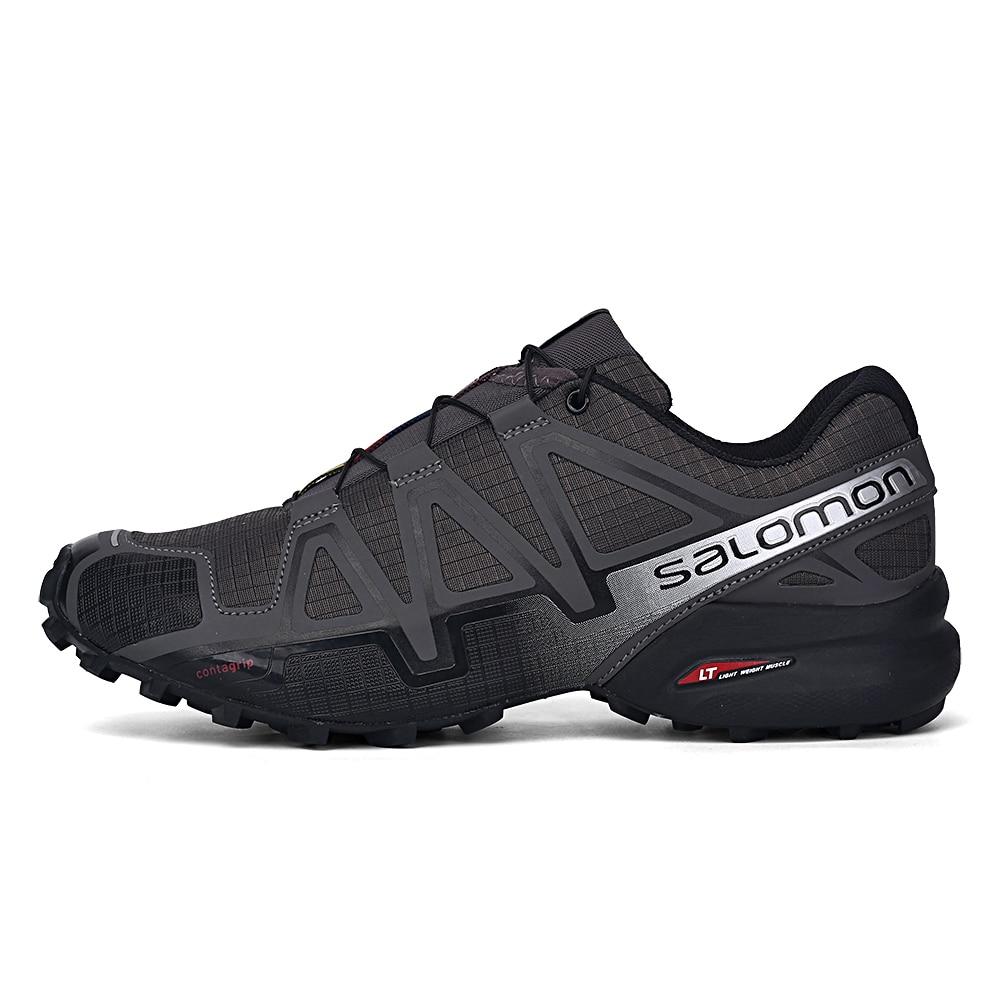 Salomon vitesse Cross 4 hommes chaussures de plein air Sport athlétique Zapatillas Hombre Speedcross CS mâle Salomon escrime course Mujer chaussures - 3