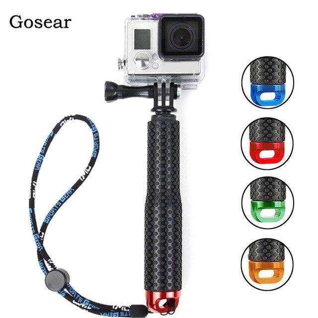 Gosear Onderwater Monopod Selfie Stick Pole & Polsband voor Gopro Go Pro Hero 5 4 3 plus 2 Sjcam Xiaomi yi 4k Action Camera