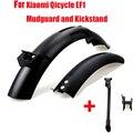 Велосипедное крыло для Xiaomi Qicycle EF1 Электрический велосипед Скутер шина брызговик запчасти крыло полка стойка оригинальная новая Замена
