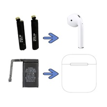 Battery Airpods A1722 A2032 for 1st 2nd-a1604/A1523/A1722/.. Goky93mwha1604 Cycle 25mah