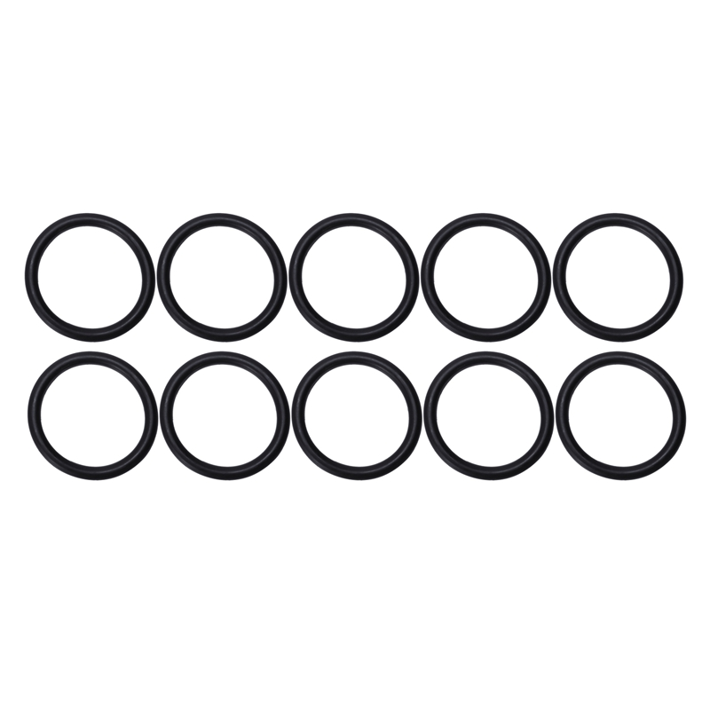10 pieces 38mm x 48mm Nitrile Rubber NBR Sealing O Ring Seal Washer image