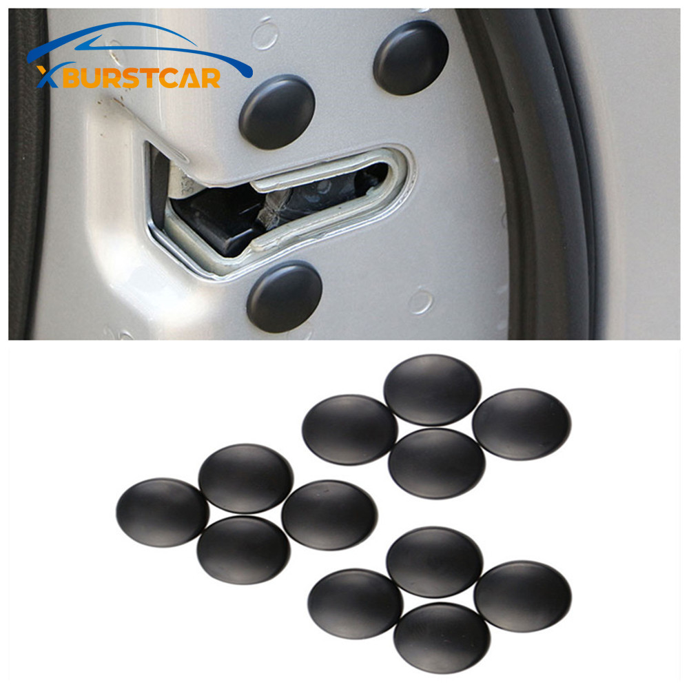 Xburstcar Car Styling Door Lock Screw Protector Cover for <font><b>Lexus</b></font> RX300 RX330 <font><b>RX350</b></font> IS250 LX570 Is200 Is300 Ls400 <font><b>Accessories</b></font> image