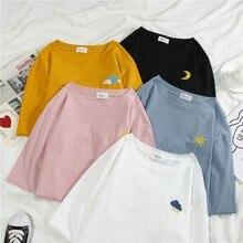 MIARHB t shirts women summer Cotton Short sleeve harajuku ladies