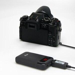 Image 4 - Мобильный Внешний аккумулятор с usb кабелем и искусственной батареей для lumix DMC G6 G7 G5 GH2 GH2K GH2S G81 G85 FZ1000 FZ2500 FZ300 FZ200