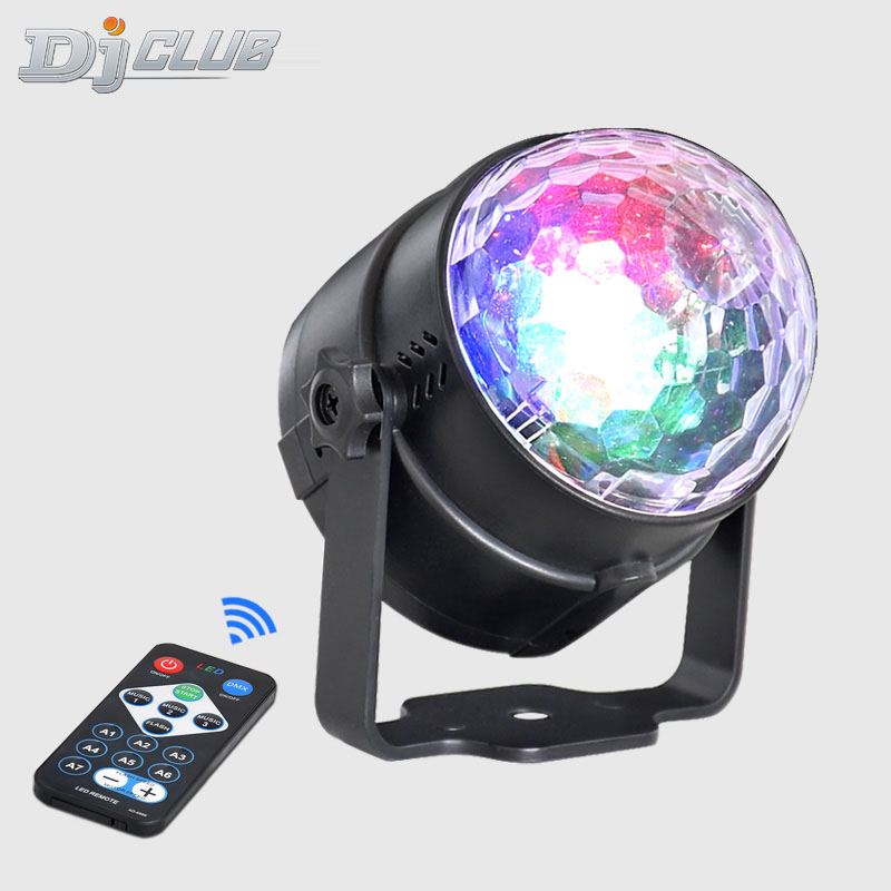 Led Disco Light Stage Lights DJ Disco Ball Lumiere Sound Activated Laser Projector Effect Lamp Light Music Christmas Party