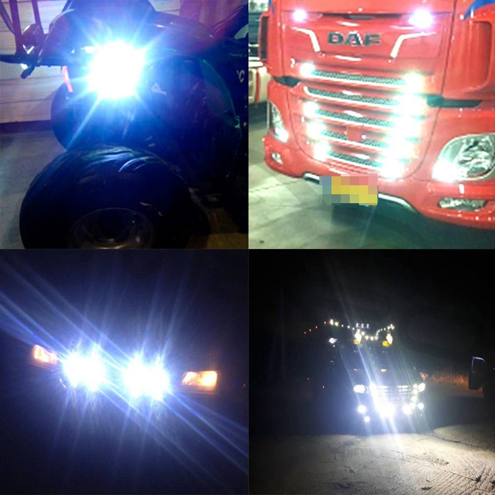 Daytime Running Light DRL Day Light 23mm Eagle Eye Lamp Source Backup Reversing Parking Signal Lamps White Waterproof Fog Light in Signal Lamp from Automobiles Motorcycles